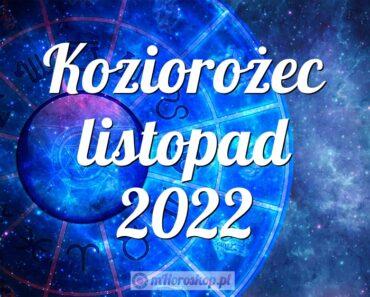 Koziorożec listopad 2022