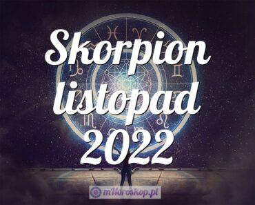 Skorpion listopad 2022