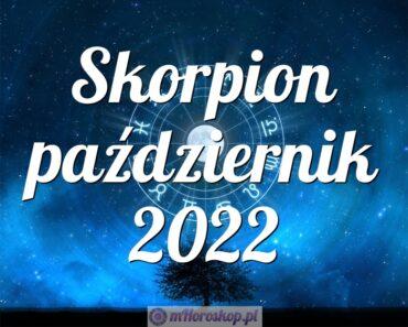 Skorpion październik 2022